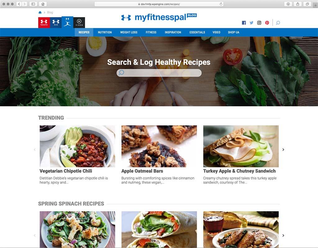 MyFitnessPal Recipes