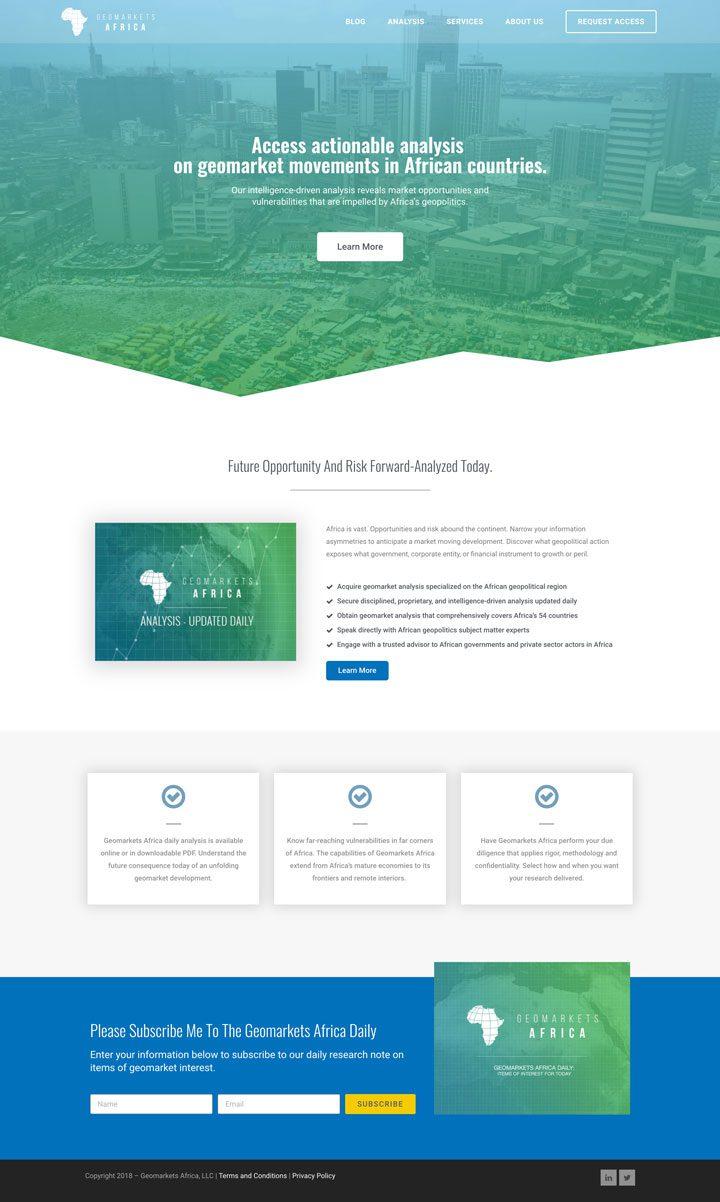 Geomarketsafrica.com (Desktop)